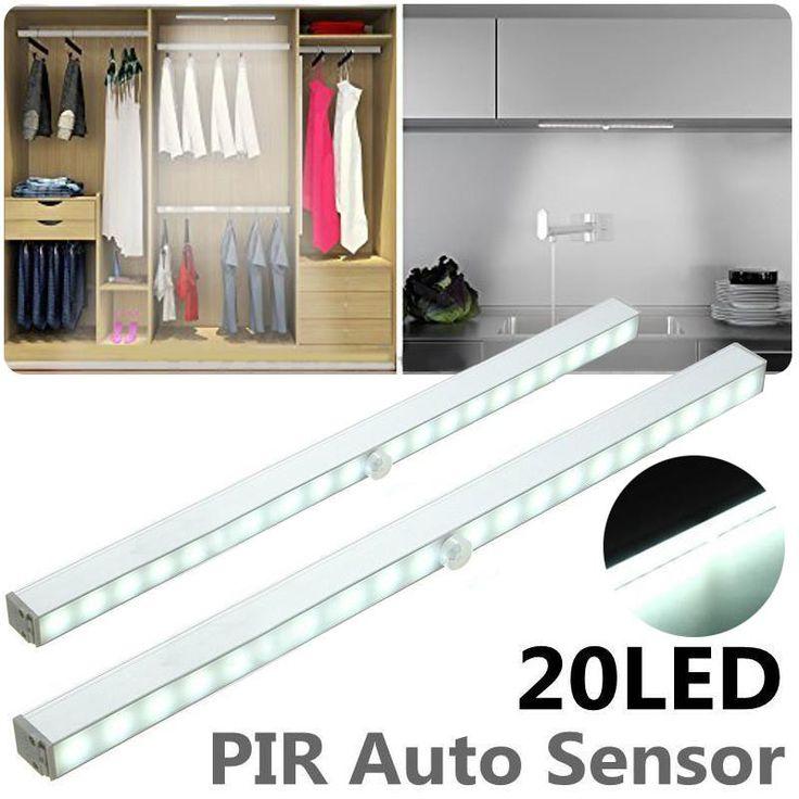 Die besten 25+ Led lampe med sensor batteri Ideen auf Pinterest - schlafzimmer lampe led