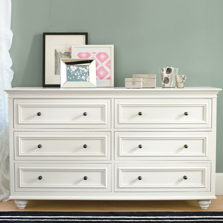 Pottery Barn Teen Chelsea Wide Dresser Room Pinterest