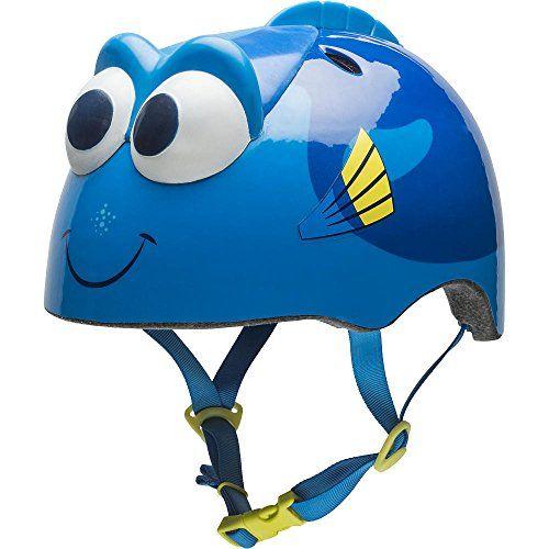 Kids' Bike Helmets - Durable Bell Sports Blue Disney Pixar Finding Dory Toddler 3D Bike Helmet for Kids Ages 35 ** More info could be found at the image url.