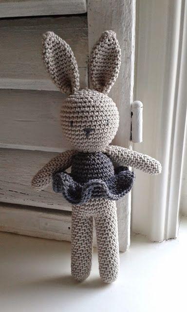 Amigurumi Bunny- Free Pattern (Amigurumi Free Patterns)