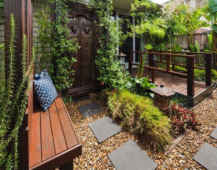 Die besten 25+ Kiesboden Ideen auf Pinterest Kieselfliesen - vorgarten gestalten asiatisch