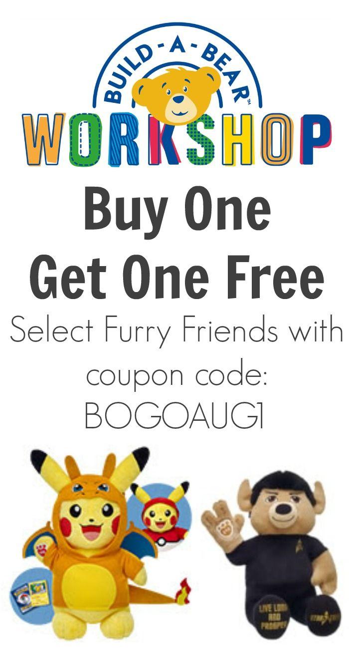 Kirklands coupons december 2013 - Build A Bear Starting 8 4 16 Online Exclusive Buy One