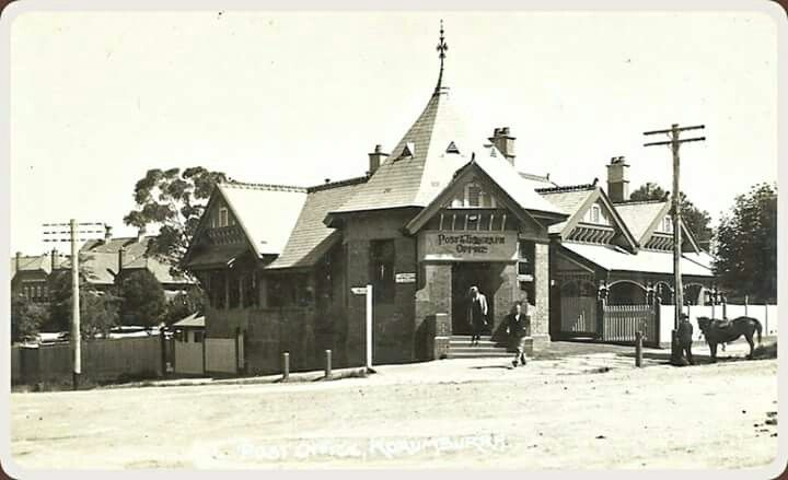 Post and Telegraph Office at Korumburra,Victoria.