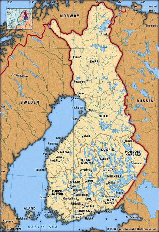 Finland - Travel Guide and Travel Info | Tourist Destinations