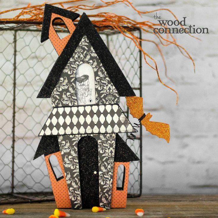 126 Best Halloween Images On Pinterest Halloween Crafts Wood