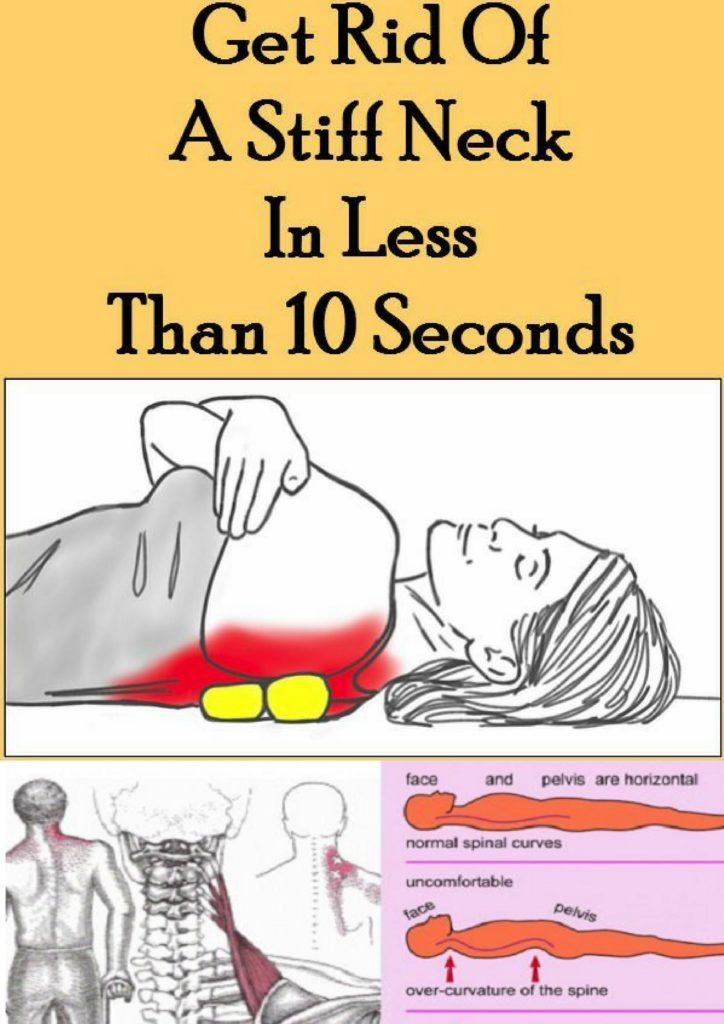 This Is How To Get Rid Of A Stiff Neck In Less Than 10 Seconds, It's Incredibly Effective