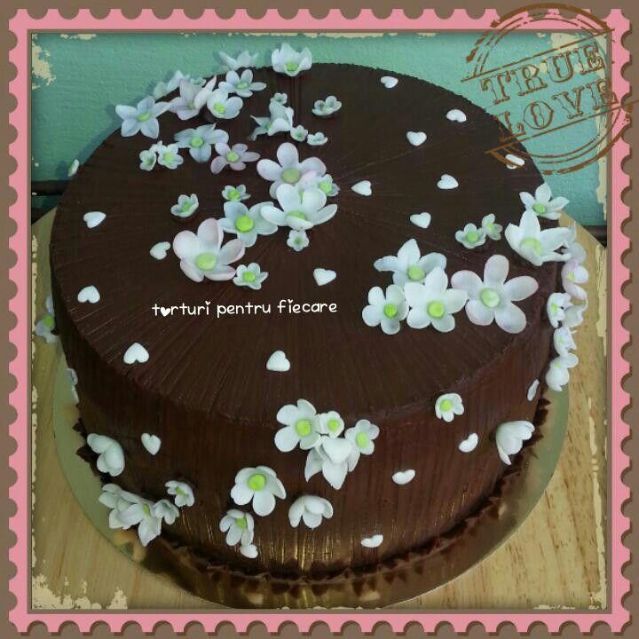 Flori si ciocolata