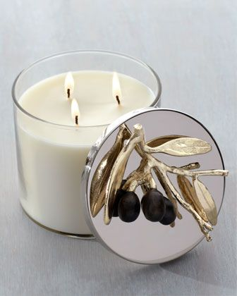 """""""Olive Branch"""" Candle http://rstyle.me/n/diu3mr9te"""