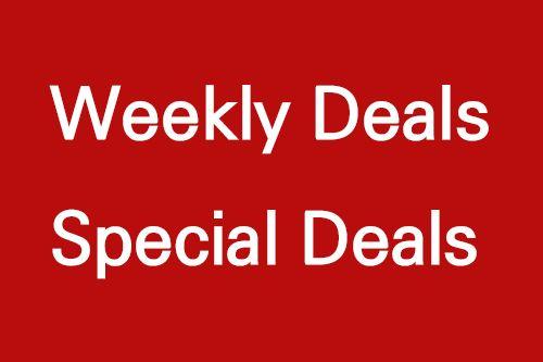 Weekly Deals Special Deals