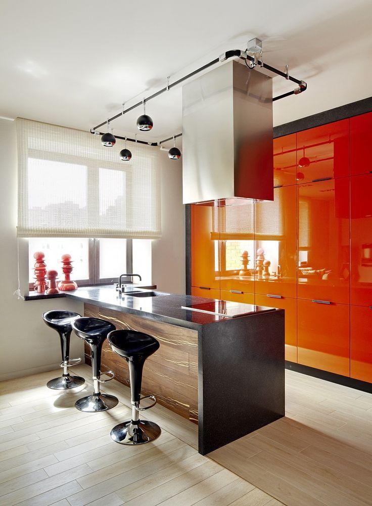 Оранжевая кухня   #кухня #оранжевый #современныйстиль Ещё фото http://iqpic.ru/%d0%be%d1%80%d0%b0%d0%bd%d0%b6%d0%b5%d0%b2%d0%b0%d1%8f-%d0%ba%d1%83%d1%85%d0%bd%d1%8f