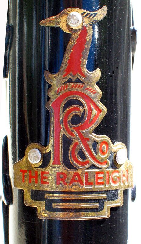 Raleigh Bicycle Badge