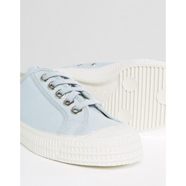 Novesta Star Master Classic Plimsolls In Baby Blue ($42) ❤ liked on Polyvore featuring shoes, sneakers, baby blue sneakers, star shoes, plimsoll sneakers, star sneakers and baby blue shoes