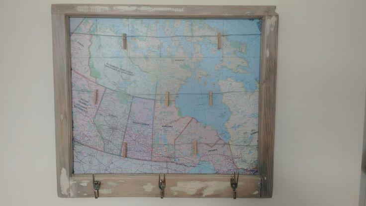 Window frame map