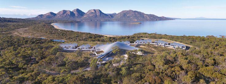 Saffire hotel Overview - Coles Bay - Freycinet Peninsula - Tasmania - Australia - Smith hotels