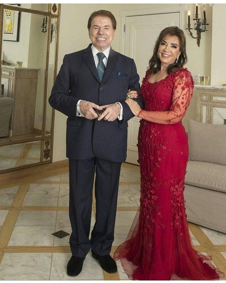regram @blognoticiatv Silvio Santos e a Esposa Íris para o Casamento da Filha Patrícia Abravanel