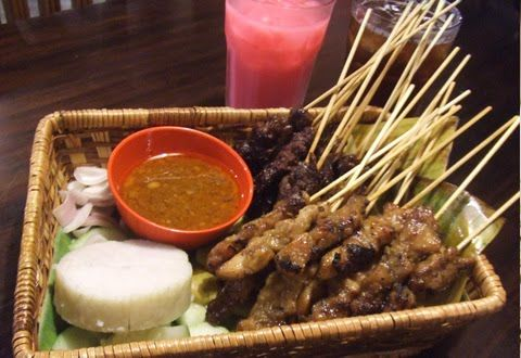 Malay Satay Recipe (Satay Marinade & Peanut Sauce) ~ Singapore Food | Recipes
