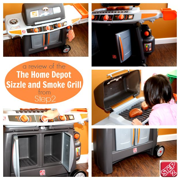 [a review of] The Home Depot Sizzle and Smoke Grill from @Step2