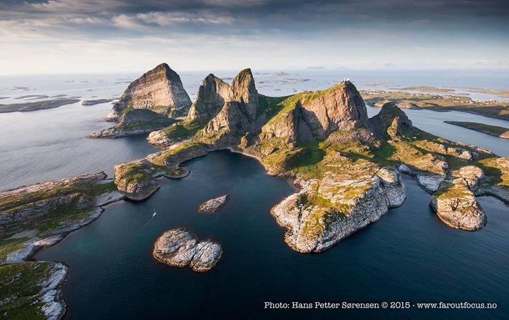 Træna, Helgeland in Norway. Photo: Hans Petter Sørensen