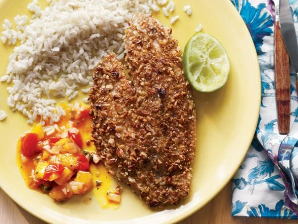 16 Speedy Suppers Ready In 30 Minutes Or Less: Nut-Crusted Tilapia http://www.prevention.com/food/cook/fast-recipes-ready-30-minutes-or-less?s=10cid=social_20140529_24917956%3Fcm_mmc%3DFacebook-_-Prevention-_-food-cook-_-fastrecipesin30minsorless