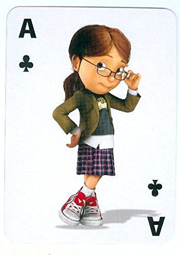 Margo Despicable Me trading game card Miranda Cosgrove Ace Clubs 2x4 @ niftywarehouse.com #NiftyWarehouse #DespicableMe #Movie #Minions #Movies #Minion #Animated #Kids