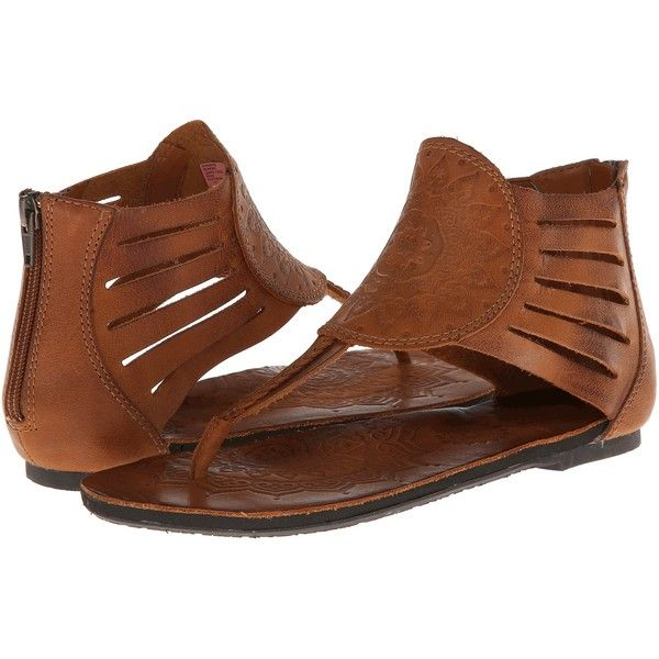 Cushe Boheme Women's Sandals, Tan ($45) ❤ liked on Polyvore featuring shoes, sandals, tan, bohemian style shoes, cushe shoes, genuine leather shoes, tan shoes and tan leather sandals