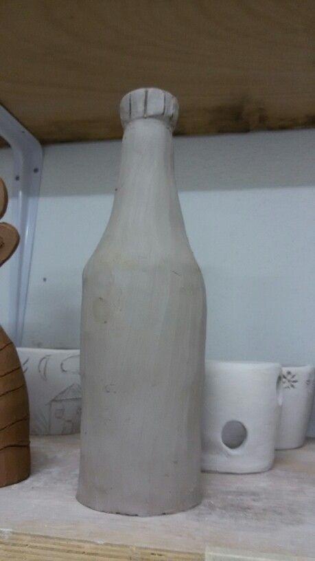 #ceramic #pottery #bottle #handmade