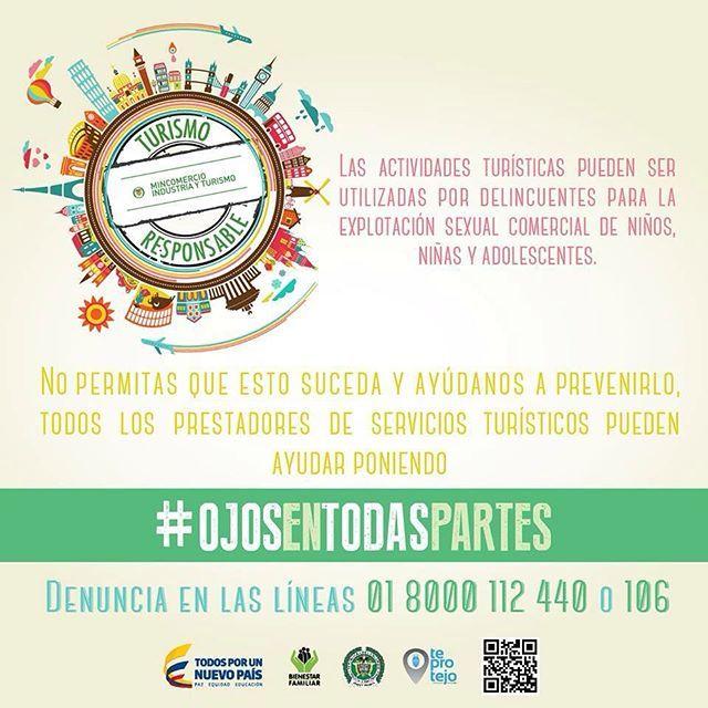 """La Explotación Sexual Comercial de Niños, Niñas y Adolescentes ESCNNA es un delito. el Hotel Arizona Suites Cúcuta se une a esta campaña protejamos a nuestros niños, niñas y Adolescentes. Denuncie! #Ojosentodaspartes #cucuta #Turismoresponsable #ESCNNA From """"#OjosEnTodasPartes"""" story by MINCIT on Storify — https://storify.com/MINCIT/ojosentodaspartes"""