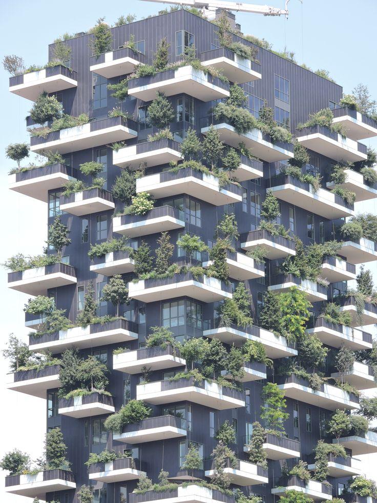 Twee trends in één: de vergroening & verticalisering van de stad.
