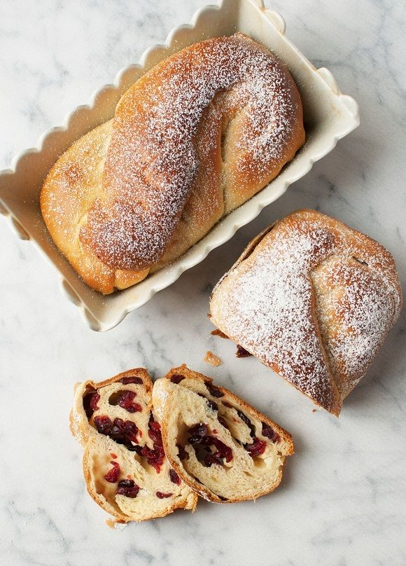 White Chocolate Cranberry Babka is braided full of deliciousness