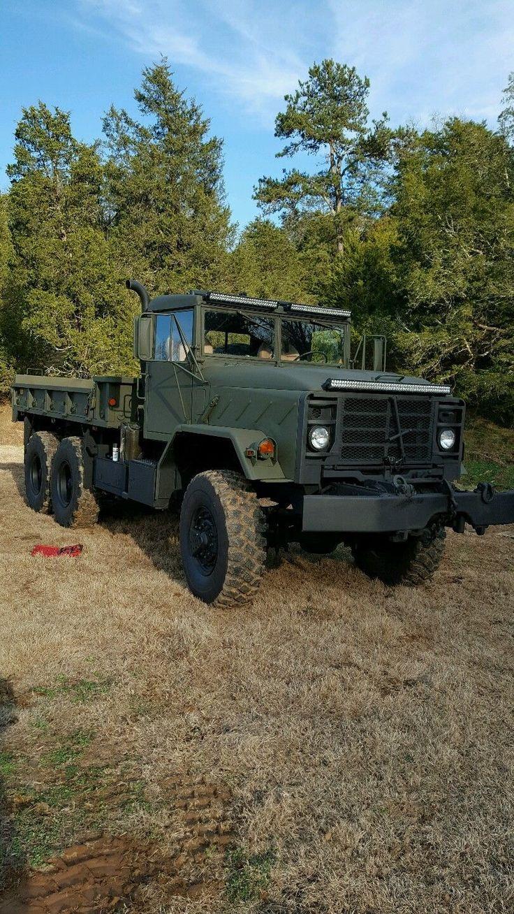 Custom 1991 Bmy Harsco M925a2 6 215 6 Military Truck