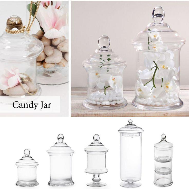 Various Candy Jars