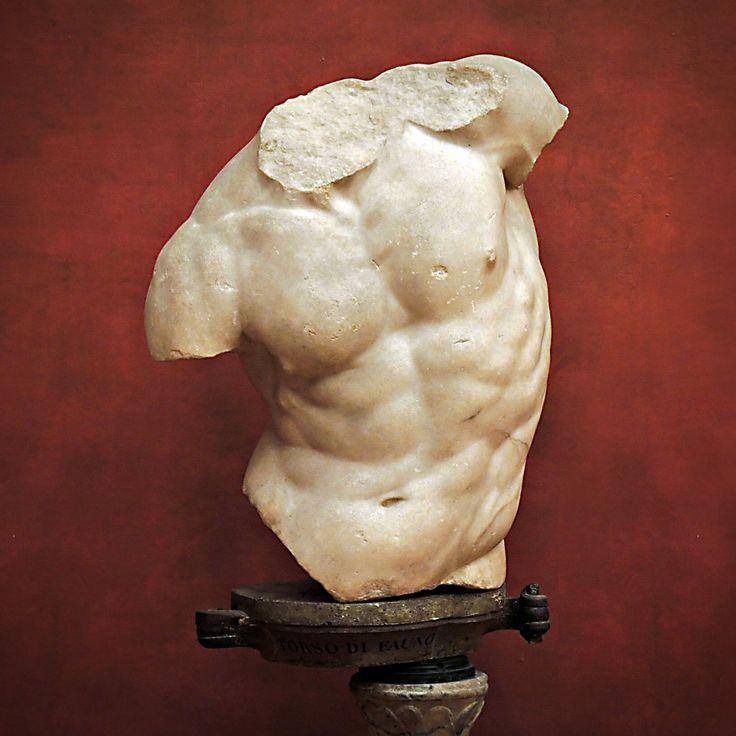 Gaddi Torso Marble Hellenistic Sculpture 2nd Century
