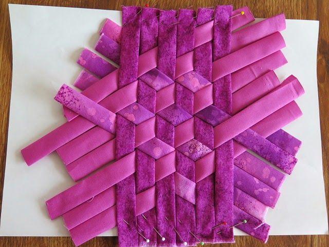meshwork technique for a 3-d tumbling block