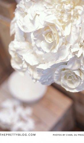 White Flower Light - KAMERS 2013 on The Pretty Blog - Photo by Charl du Preez