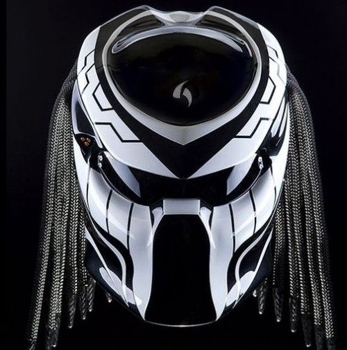 Color : Black And White We use full helmet DOT as its base and Resin Catalis…