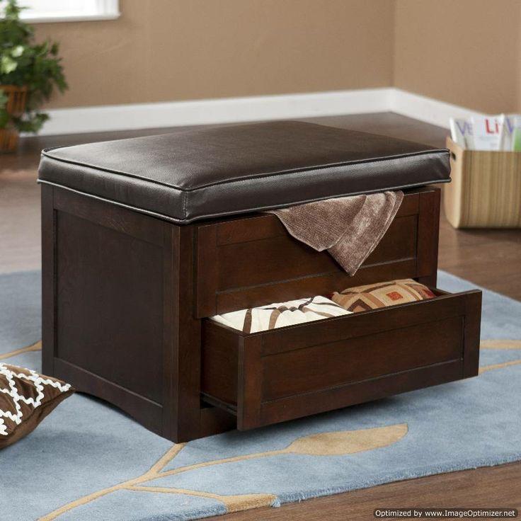 storage+ottoman+bench | ... Traditional Media Storage Bedroom Storage Ottoman Footstool Bench