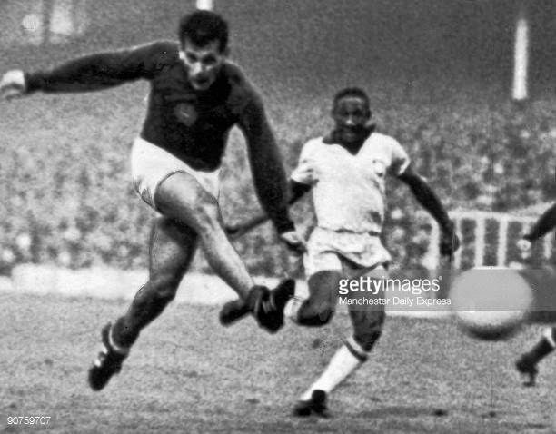 Janos Farkas scores for Hungary July 1966