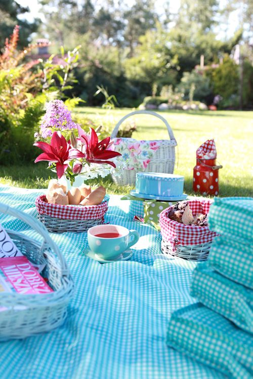 Enjoy the sun this summer with a picnic!
