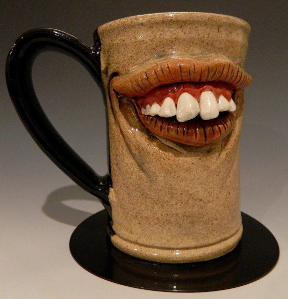 Best 25 face mug ideas on pinterest clay faces clay for Pottery cup ideas