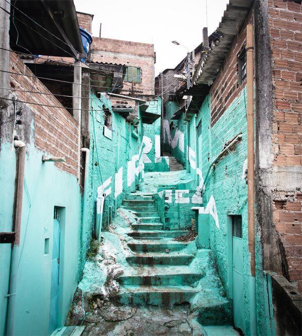 Regeneración urbana - Luz nas Vielas, intervención urbana de Boa Mistura en São Paulo | Experimenta