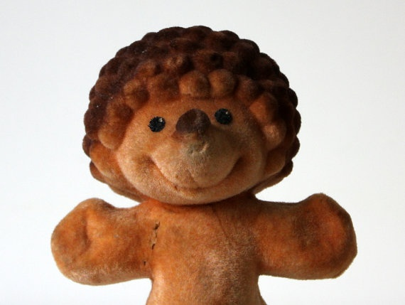 Vintage russian toy HEDGEHOG from Soviet Unions 70s