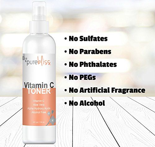 Vitamin C Facial Toner Spray – Natural & Organic, Alcohol-Free, Pore Minimizer for Face – With Aloe Vera, Antioxidants and Alpha Hydroxy Acids - Best for Normal, Combination or Oily Skin - Reviews #Vitamin #Facial #Toner #Spray #Natural #Organic, #Alcohol-Free, #Pore #Minimizer #Face #With #Aloe #Vera, #Antioxidants #Alpha #Hydroxy #Acids #Best #Normal, #Combination #Oily #Skin #Reviews