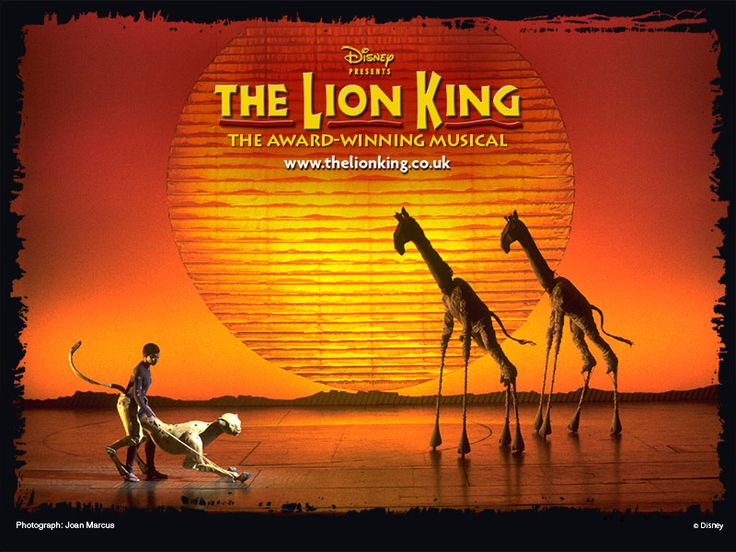Lion King the musical!
