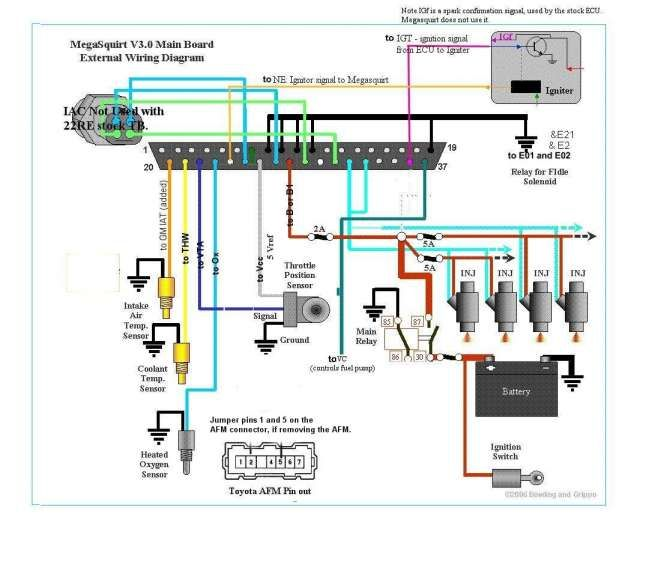 toyota 5a engine wiring diagram and toyota celica engine