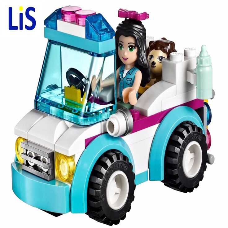 4.45$  Buy here - Lis BELA 10534 Friends Series Vet Ambulance Building Blocks Classic For Girl Kids Model Toys Marvel Compatible Lepins   #aliexpressideas