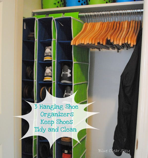 Blue Clear Sky: Organizing ~Our Front Hall Closet