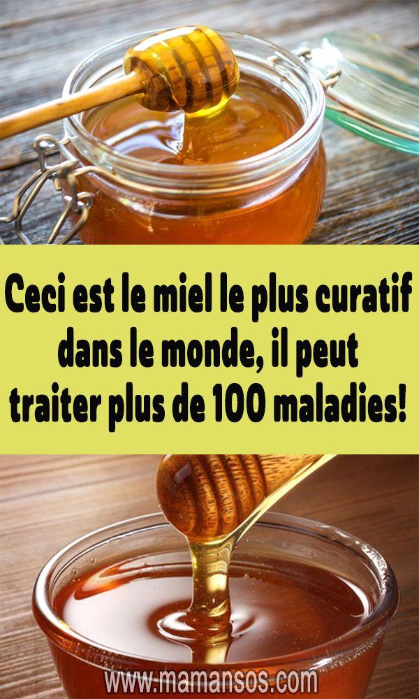 Ceci est le miel le plus curatif dans le monde, il peut ...