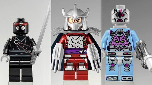 LEGO TEENAGE MUTANT NINJA TURTLES UNVEILED