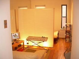 Live Edge Wood Folding Room Divider