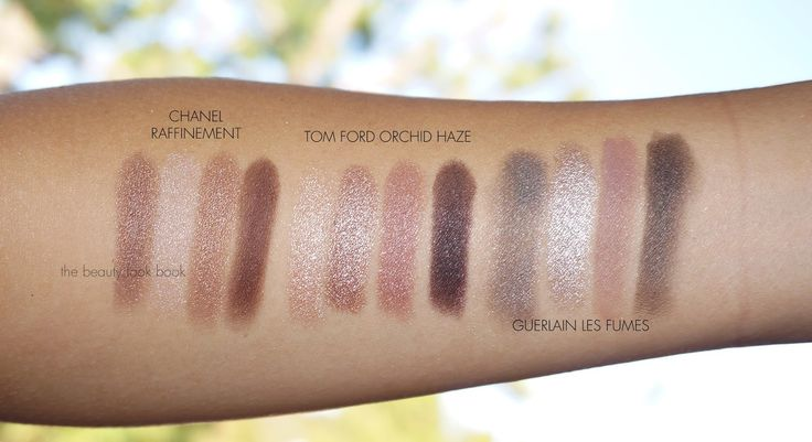 Left To Right Chanel Raffinement Tom Ford Orchid Haze